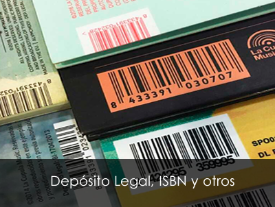 Depósito Legal, Proyecto Editorial, Reintegro Tributario e ISBN