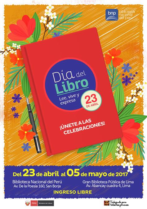 CELEBRA EL DÍA DEL LIBRO EN LA BNP   Biblioteca Nacional
