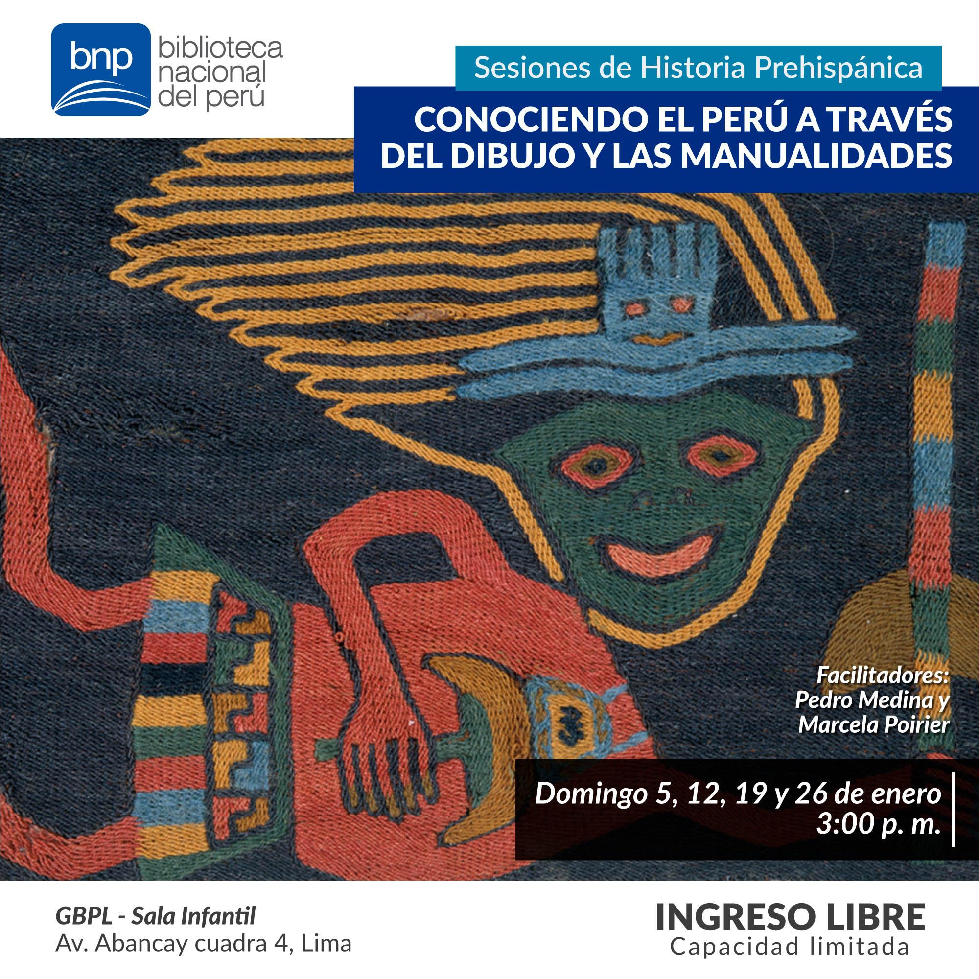 Ninos Aprenden Sobre Culturas Prehispanicas En La Gran Biblioteca Publica De Lima Biblioteca Nacional Del Peru Bnp